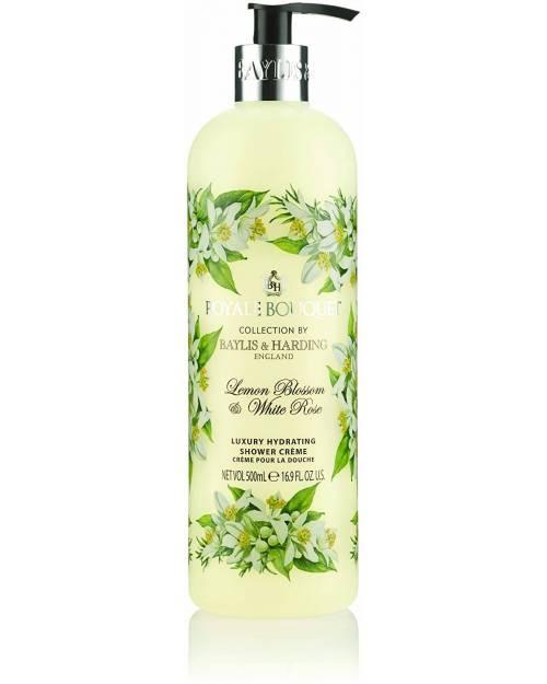Baylis & Harding Royale Bouquet Crema de Ducha Limon & Rosa Blanca 500ml