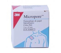 esparadrapo micropore carne 5 x 2,5