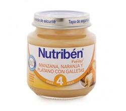 nutriben bebe manz/naran/plat/galle 130g