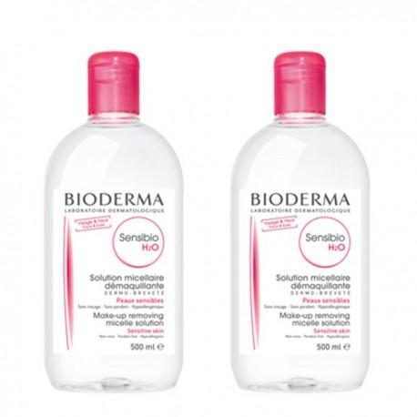 Bioderma Sensibio H2O Agua Micelar Duplo 500ml +500ml