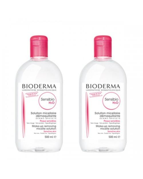Bioderma Sensibio H2O 2x500ml