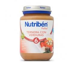 nutriben junior ternera/verduras 200gr.