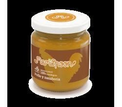 Mamispoon Tarrito Ecologico Pollo y Zanahoria +6m 180gr