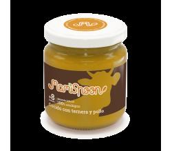 Mamispoon Tarrito Ecologico Cocido Con Ternera Y Pollo +8m 180gr
