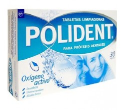 polident oxigeno activo 30 tabletas