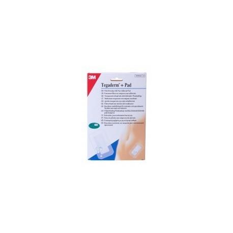 tegaderm + pad 9x15 cm. 5 apositos